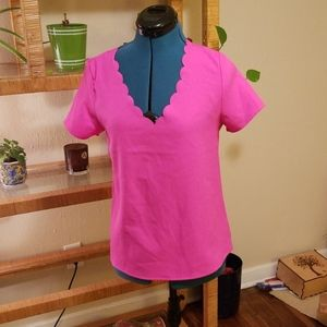 Hot pink Everly top